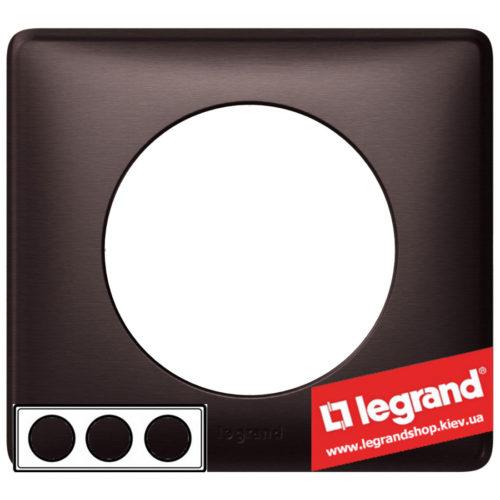 Рамка 3-я Legrand Celiane 68933 (графит)