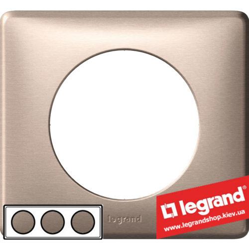 Рамка 3-я Legrand Celiane 68943 (слюда)