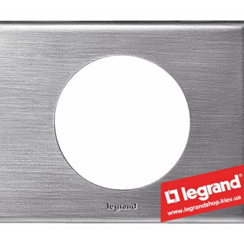 Рамка 1-я Legrand Celiane 69101 (фактурная сталь)