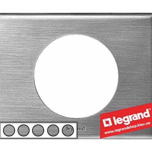 Рамка 5-я Legrand Celiane 69110 (фактурная сталь)