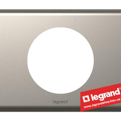 Рамка 1-я Legrand Celiane 69111 (никель велюр)