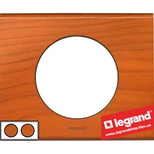 Рамка 2-я Legrand Celiane 69172 (кедр)