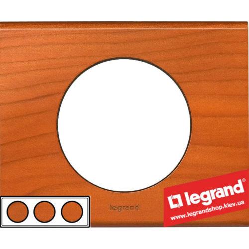 Рамка 3-я Legrand Celiane 69173 (кедр)