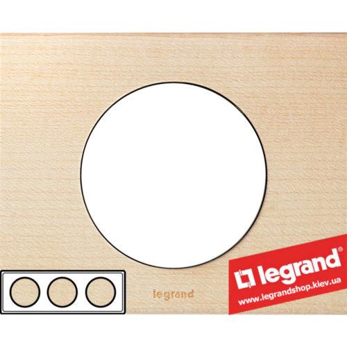 Рамка 3-я Legrand Celiane 69213 (клен)