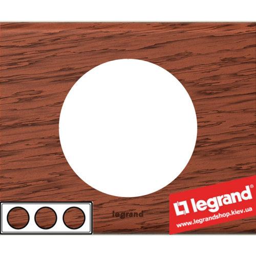 Рамка 3-я Legrand Celiane 69223 (орех)