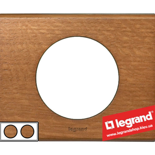 Рамка 2-я Legrand Celiane 69232 (дуб)