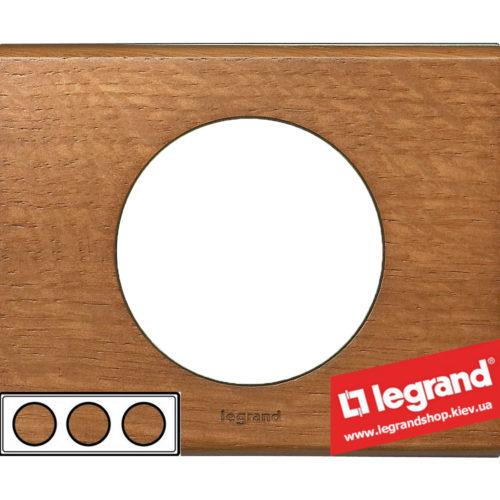 Рамка 3-я Legrand Celiane 69233 (дуб)