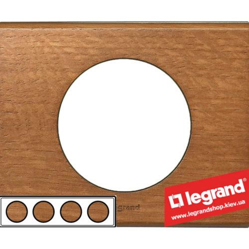 Рамка 4-я Legrand Celiane 69234 (дуб)