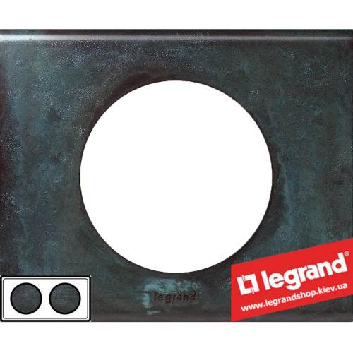 Рамка 2-я Legrand Celiane 69272 (патина медь)