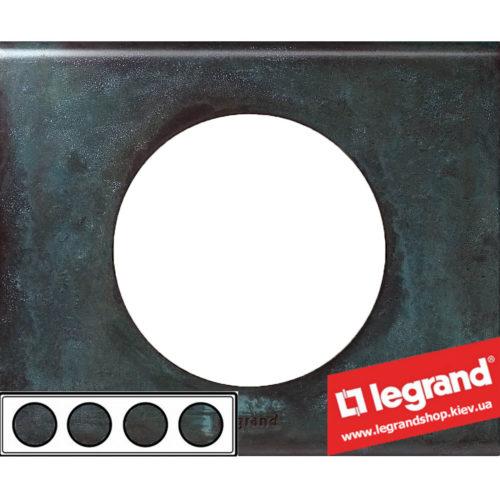 Рамка 4-я Legrand Celiane 69274 (патина медь)