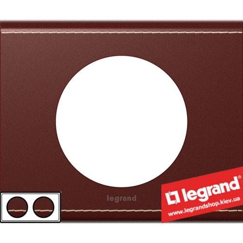 Рамка 2-я Legrand Celiane 69292 (кожа классик)