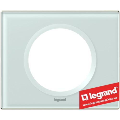 Рамка 1-я Legrand Celiane 69311 (смальта белая глина)