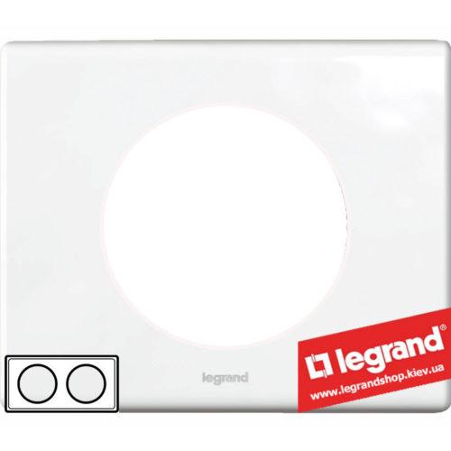 Рамка 2-я Legrand Celiane 69322 (фарфор)