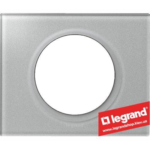 Рамка 1-я Legrand Celiane 69341 (смальта металлик)