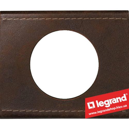 Рамка 1-я Legrand Celiane 69401 (кожа текстура)