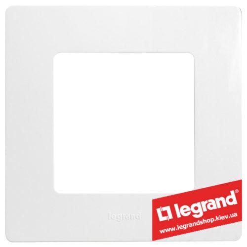 Рамка 1-я Legrand Etika 672501 (белая)