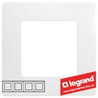 Рамка 4-я Legrand Etika 672504 (белая)