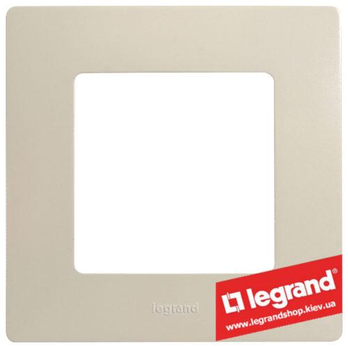 Рамка 1-я Legrand Etika 672511 (слоновая кость)
