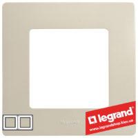 Рамка 2-я Legrand Etika 672512 (слоновая кость)