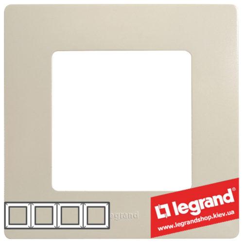 Рамка 4-я Legrand Etika 672514 (слоновая кость)