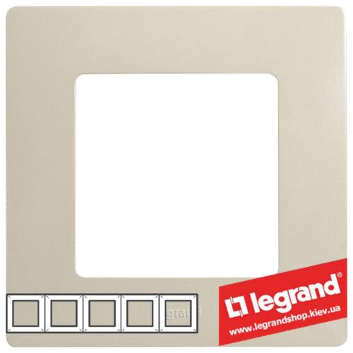 Рамка 5-я Legrand Etika 672515 (слоновая кость)