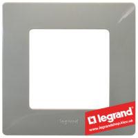 Рамка 1-я Legrand Etika 672521 (светлая галька)