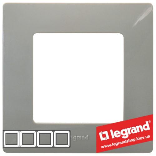 Рамка 4-я Legrand Etika 672524 (светлая галька)