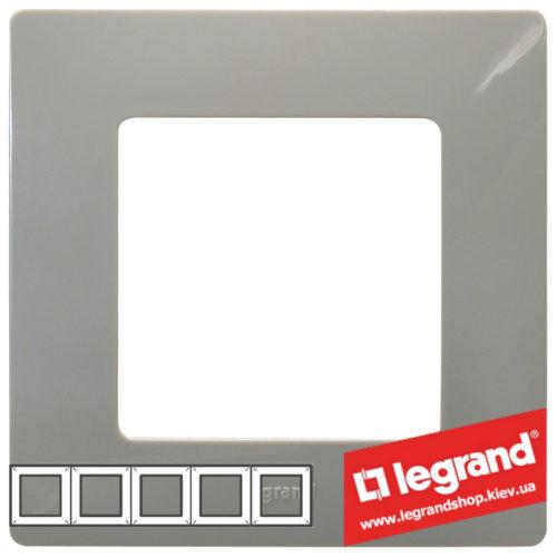 Рамка 5-я Legrand Etika 672525 (светлая галька)