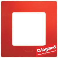 Рамка 1-я Legrand Etika 672531 (красная)