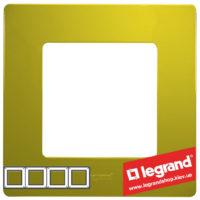 Рамка 4-я Legrand Etika 672544 (зеленый папоротник)