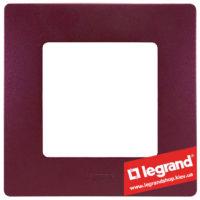 Рамка 1-я Legrand Etika 672561 (сливовый)