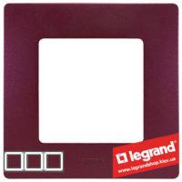 Рамка 3-я Legrand Etika 672563 (сливовый)