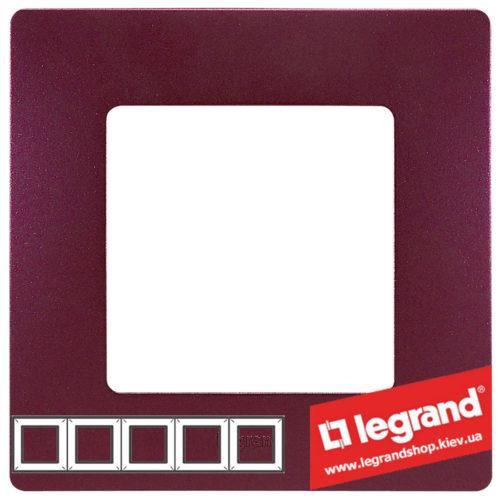 Рамка 5-я Legrand Etika 672565 (сливовый)