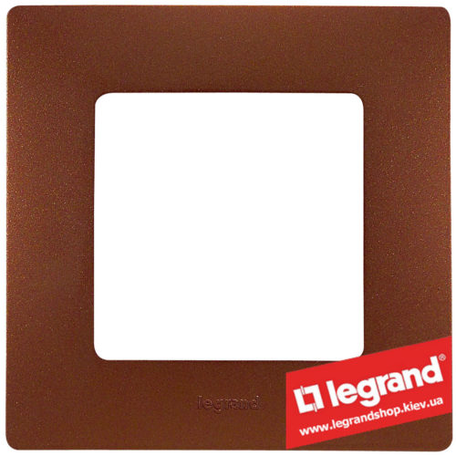 Рамка 1-я Legrand Etika 672571 (какао)