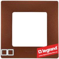 Рамка 2-я Legrand Etika 672572 (какао)
