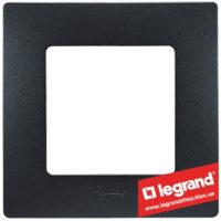 Рамка 1-я Legrand Etika 672581 (антрацит)