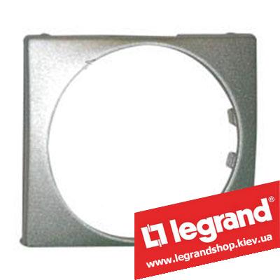 Универсальная лицевая панель Legrand Valena 46.5 мм (алюминий)