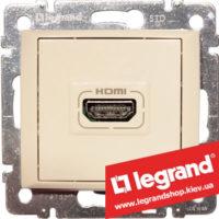 Розетка аудио/видео HDMI Legrand Valena 774185 (слоновая кость)