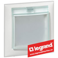 Рамка влагозащищенная IP44 Legrand Valena 774450 (белая)