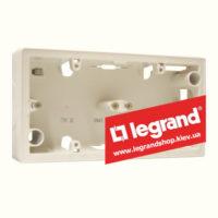 Корпус для наружной установки Legrand Valena 2 поста (слоновая кость)