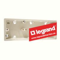 Корпус для наружной установки Legrand Valena 3 поста (слоновая кость)