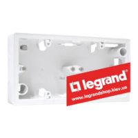 Корпус для наружной установки Legrand Valena 2 поста (белый)