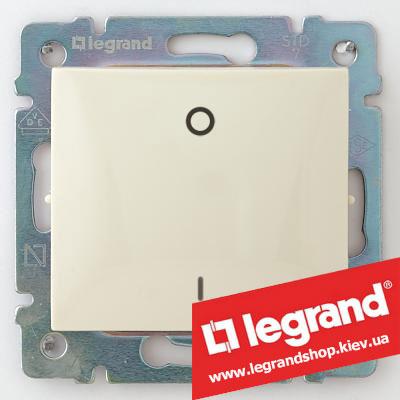 Выключатель двухполюсный Legrand Valena 10А 774302 (слоновая кость)