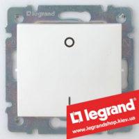 Выключатель двухполюсный Legrand Valena 10А 774402 (белый)
