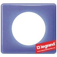 Рамка 1-я Legrand Celiane 66661 (лиловый муар)