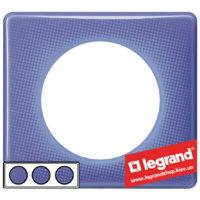 Рамка 3-я Legrand Celiane 66663 (лиловый муар)