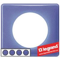 Рамка 4-я Legrand Celiane 66664 (лиловый муар)