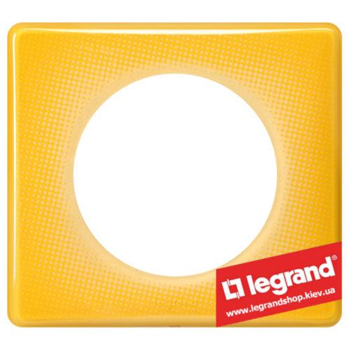 Рамка 1-я Legrand Celiane 66671 (песочный муар)