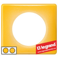 Рамка 2-я Legrand Celiane 66672 (песочный муар)