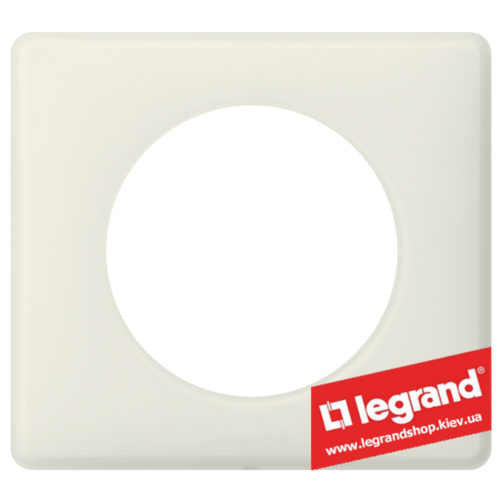 Рамка 1-я Legrand Celiane 066701 (белая перкаль)